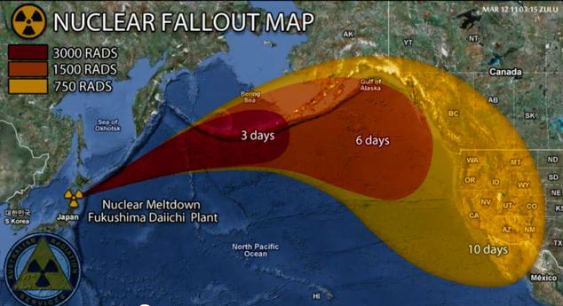 """If There Were a Reactor Meltdown or Major Leak at Fukushima, the Radioactive Cloud Would Likely be Blown Out … Towards the US West Coast"""